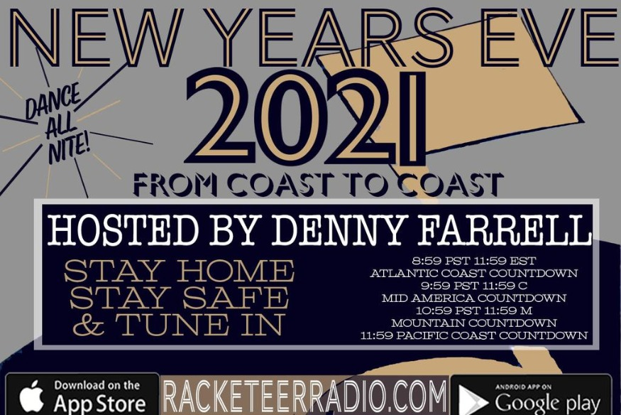 New Years Eve 2021: Coast to Coast Live on Racketeer Radio